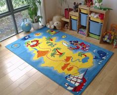 Kids 3897 Pirates Rg is a best selling design in yellow and blue colours, perfect for nurseries and childrens rooms. Thick and soft, easy clean and non shedding. Pirate Boy, Selling Design, Rug Store, Blue Yellow, Playroom, Pirates, Baby Boy, Nursery, Kids Rugs