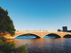 #johnwweeksbridge #johnweeksbridge #bridge #CharlesRiver #cambridge #cambma #tree #river #water #nature #manmade #people #bluesky #igersmass #visitma #vsco #vscocam #vscodaily #vscophile #vscogood by bcrawfordphoto September 24 2015 at 09:29AM