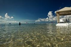 Floating Pavilion at Puri Santrian Beach, Sanur