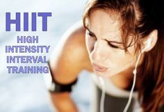Learn how to train less and perform better with high intensity interval training.  Includes an example workout.