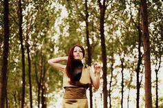 Tasarım: Ecem Çetindağ Fotoğraf: Kıvılcım Güngörün Model: Büşra Gülaydın
