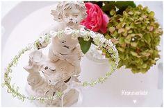 Haarschmuck & Kopfputz - Haarkranz Haarschmuck Hochzeit Braut *Fina* - ein…