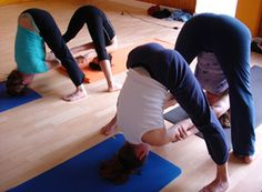 Partner Yoga Pose: Double Standing Straddle