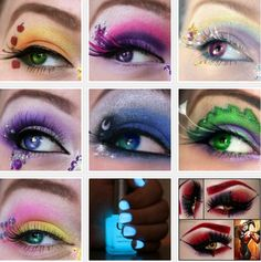 Mlp and Harley quinn eyes