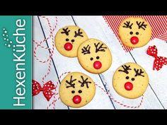 Rentier Cookies - Soo süß « dieHexenküche.de   Thermomix Rezepte Holiday Decor, Sweet, Desserts, Baumkuchen Recipe, Baking Cookies, Reindeer Cookies, Winter Food, Candy, Tailgate Desserts