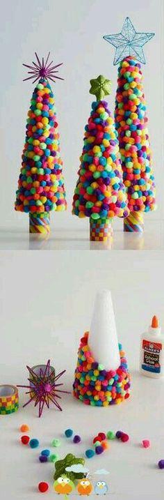 Maybe use gum balls????