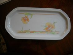 """Westbury The Toscany Collection Serving Platter 13"""" x 6 1/4"""" Excellent   eBay"""