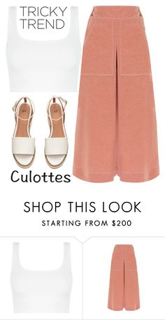 """""""culottes"""" by j-n-a ❤ liked on Polyvore featuring Temperley London, TrickyTrend and culottes"""