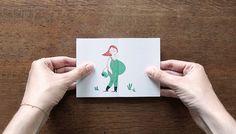 6 cartões de nascimentos que revela surpresa quando aberto - Artigo Interessante