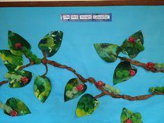 Hungry caterpillar Bulletin Board