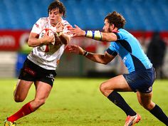 Blue Bulls crush Welwitschias 95-12 Right Wing, Sports News, Rugby, South Africa, Crushes, Baseball Cards, Running, Blue, Keep Running