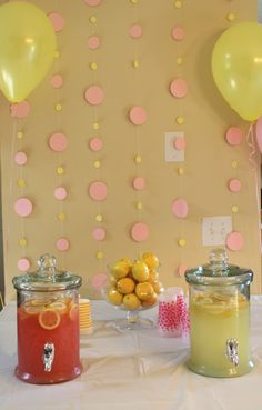 Adorable Pink Lemonade Birthday Party by @Alena Gabelchenko Gabelchenko Gabelchenko Gabelchenko Gabelchenko Chandler