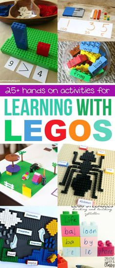 Learn with LEGOs wit