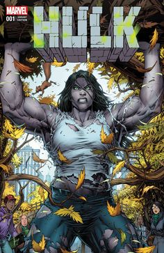 "Jennifer Walters will drop the ""She"", and take up the mantle of Hulk from her recently deceased cousin this December in the pages of Marvel's new ongoing series from award-winning writer Mariko Tamaki."
