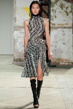 Proenza Schouler Spring 2013 Ready-to-Wear Collection - Vogue Fashion Now, Nyc Fashion, Fashion Week, Runway Fashion, Fashion Brands, High Fashion, Fashion Design, Review Fashion, Mode Style