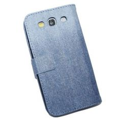 High Quality Jeans PU Wallet Case For Samsung Galaxy S3 I9300 US$12.98 +free shipping