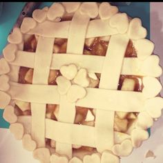 Logan's pie decorations @Logan Menne