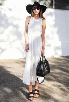 Hot in Heels » 6 ways to wear: Birkenstocks