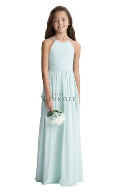 Junior Bridesmaid Dress Available at Ella Park Bridal   Newbugh, IN   812.853.1800   Bill Levkoff - Style 116102