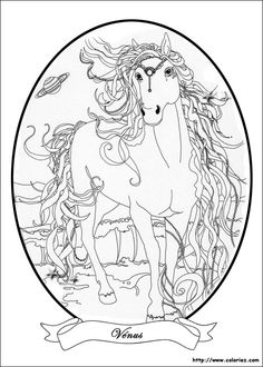 Bella Sara Coloring Page 3 Is A From BookLet Your Children Express Their Imagination When They Color The