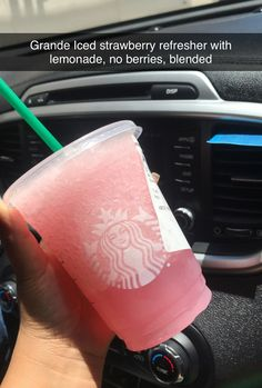 Starbucks Secret Menu - 8 Drinks You Need To Know About -You can find Secret menu and more on our website.Starbucks Secret Menu - 8 Drinks You Need To K. Starbucks Hacks, Healthy Starbucks Drinks, Starbucks Secret Menu Drinks, Starbucks Coffee, Healthy Drinks, Starbucks Refreshers, Starbucks Flavors, Starbucks Strawberry, Healthy Recipes