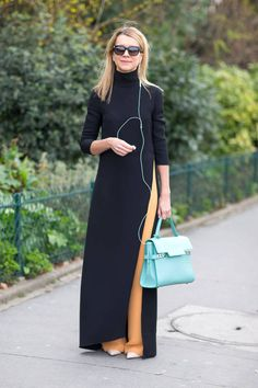 Get inspired by the chicest street style snapped outside of Paris Fashion Week. Click for more!