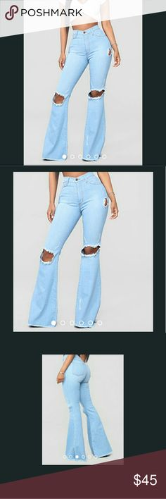 I just added this listing on Poshmark: 😍😍Fashion Nova 'Dazed for Days' Flare Jeans. Free People Boots, Light Blue Color, Nova Jeans, Fashion Tips, Fashion Design, Fashion Trends, Flare Jeans, Christmas Cookies, Bell Bottoms