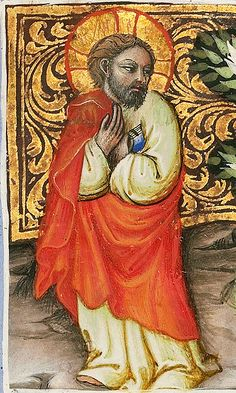 Jesus Calling St. Andrew and St. Peter - MS. 34, F. 172A