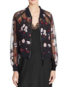 Lucy Paris Embroidered Bomber Jacket - 100% Bloomingdale's Exclusive