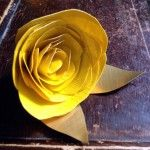 Tutorial: How to Make a Duck Tape® Rose & Prom Crafting