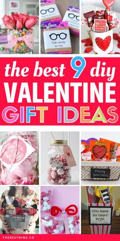 "There's no better and easier way to say I love you than with gorgeous and thoughtful DIY Valentine's Gifts. So, make that special person in your life feel the love by spoiling them with one of these best 9 DIY Valentine's Day gifts that Say ""I Love You"". #ValentinesDayGifts #DIYValentinesDayGifts #ValentinesDayGiftsDIY #DIYGifts #EasyDIYGifts #VDAYGifts #DIYGiftTutorialsValentinesDay"