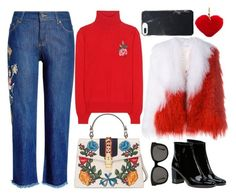 """""""NYFW Street Style: Day One"""" by yuliasaburova on Polyvore featuring мода, Saks Potts, Zadig & Voltaire, Gucci, Yves Saint Laurent, Gentle Monster и Rebecca Minkoff"""