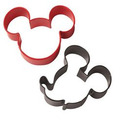 Mickey Mouse Cookie Cutter Set $4