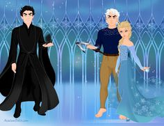 """""""Pitch what are you doing here!"""" Jack said. Pitch chuckled """"What, not excited to see me?"""" Pitch said. """"Not after you tried to get rid of me and the guardians!"""" Jack said raising his staff in defense. """"Jack who is he?"""" Elsa said. """"I don't think we've been introduced. I am Pitch the nightmare king, and you are Elsa the Snow Queen. My you are beautiful."""" Pitch said. """"You stay away from her!"""" Jack said. Pitch conjured up his black sand """"Tell the guardians I'm back,that I will have my revenge."""""""