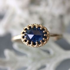 27 Non-Diamond Engagement Rings that Sparkle Just as Bright | OneWed