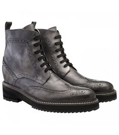 Guidomaggi - Boots with increase Shangai made in Italy