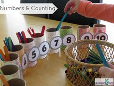 Number and counting activity