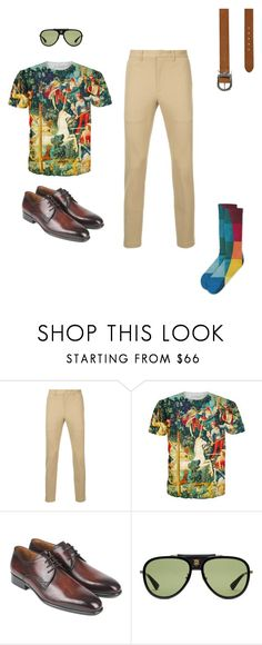 """""""Always Sunny"""" by cargo-92 on Polyvore featuring HYSTERIC GLAMOUR, Gucci, Yves Saint Laurent, men's fashion and menswear"""
