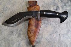 Gurkha MC 3 Fuller Khukuri Khukri Kukri Knife 6 inch Hand Forged Full Flat Tang