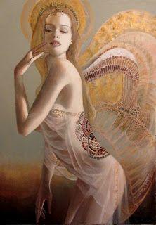 Artiste peintre Pascal Dugourd:  Angelle 2 n...