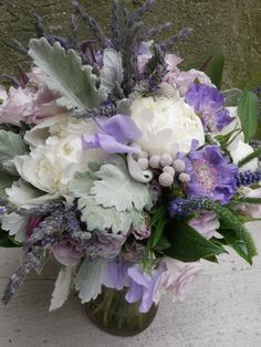 Image detail for -Megan's favorite purple flowers include: Dutch Hydrangea, Mokara ...