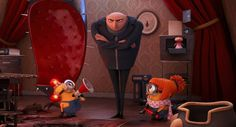 Despicable Me 2-Took two small grand kids to see this. Love Love !