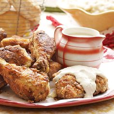 Fried Chicken and Milk Gravy Recipe from Gooseberry Patch.