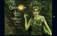"Hedgecreek Dryad ©Susan Schroder Part of my new book series ""Circle the Sun"""