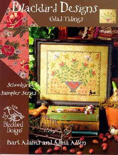 Glad Tidings - Cross Stitch Pattern