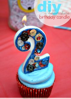 DIY - Makeover a Dollar Store Birthday Candle