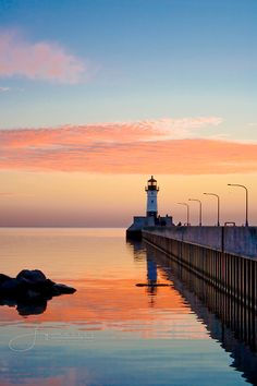 I have a fascination for lighthouses, and sunsets!  Great combination!  #sunsets #lighthouses #beautiful