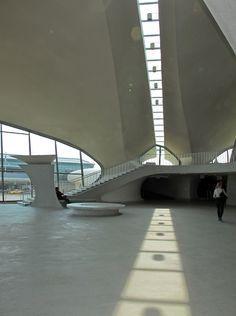 Eero Saarinen's TWA Terminal at JFK Airport