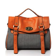 Jeopardy & Young: Kate Striped Medium Bag, at 50% off!