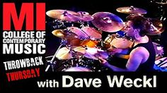 Dave Weckl Throwback Thursday From the MI Vault 8/28/1998 - YouTube